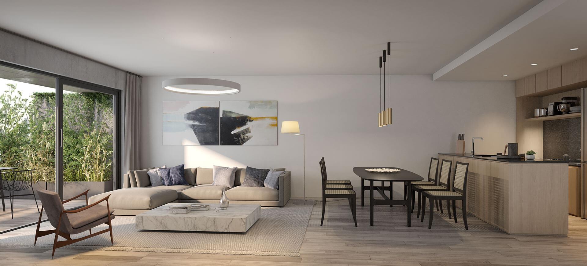 Departamento 4 Ambientes con Balcón Terraza - Superficie Total: 115 m2